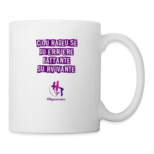 Les femmes HG warrior - Mug blanc