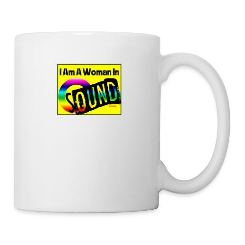 I am a woman in sound - rainbow - Mug