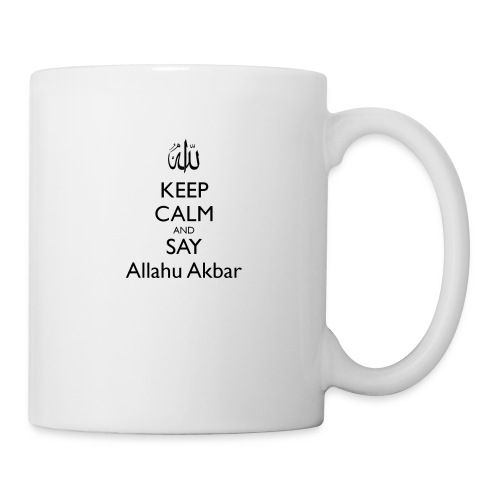 keep-calm-and-say-allahu-akbar - Tasse