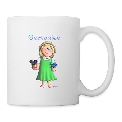 Süßes Garten Mädchen - Gartenfee - Tasse