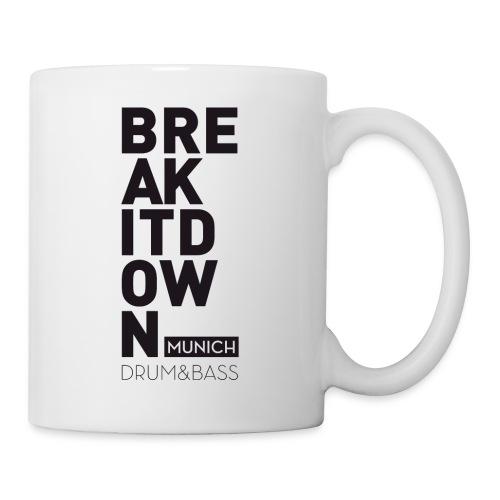 Break it Down (Black) - Tasse