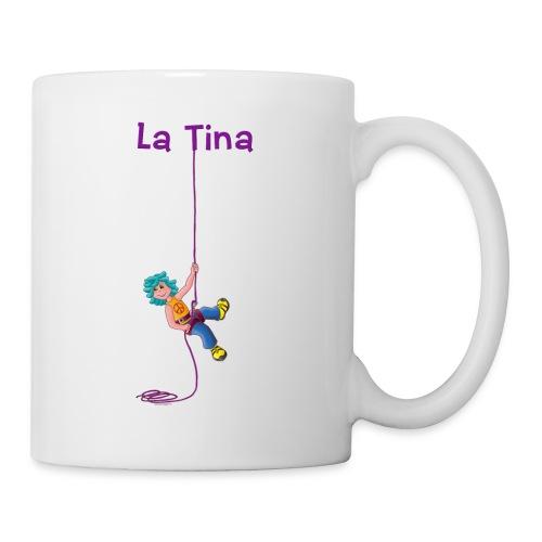 La Tina rapelant - Taza