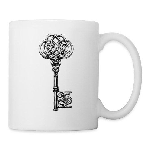 CHAVE-celtic-key-png - Taza