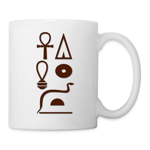 Hieroglyphen - Leben wie Re ewig - Tasse