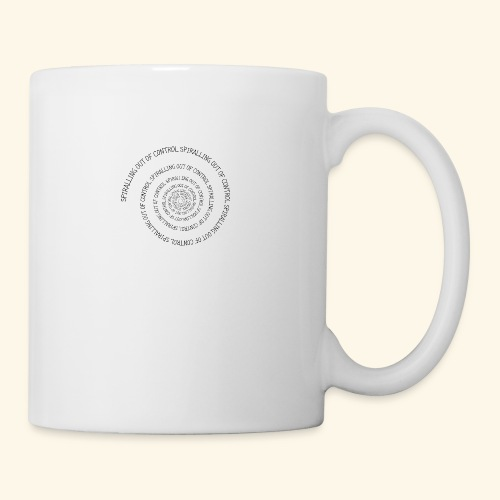 SPIRAL TEXT LOGO BLACK IMPRINT - Mug