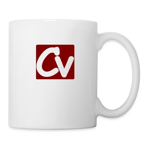 cuboviaggiatore rosso bianco logo grand - Mug