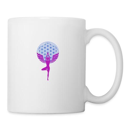 fleur de vie yoga n°1 - Mug blanc