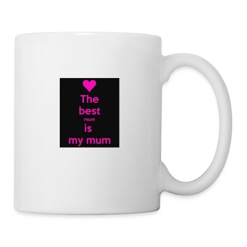 the best mum is my mum - Mug