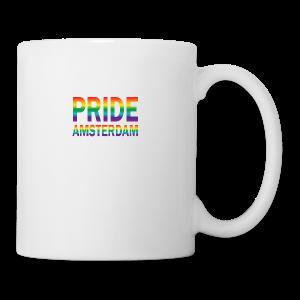 Pride Amsterdam in regenboog kleuren - Mok