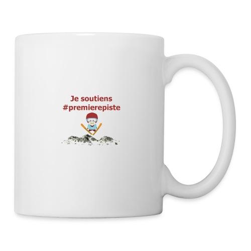 Soutenez #premierepiste - Mug blanc