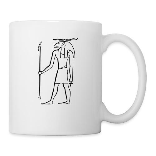 Ancien Dieu Egyptien - Mug blanc
