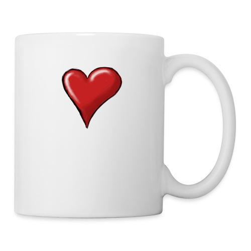 Love (coeur) - Mug blanc