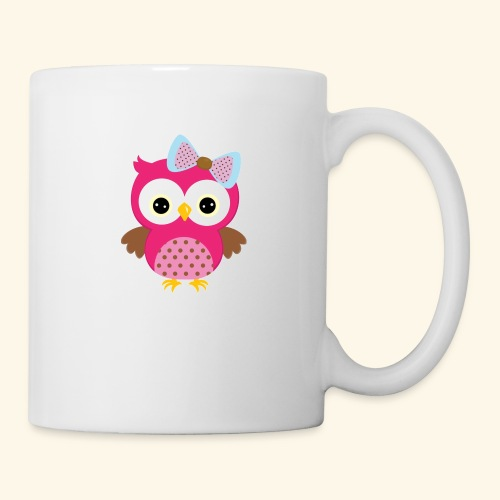 Girly Owl - Mug