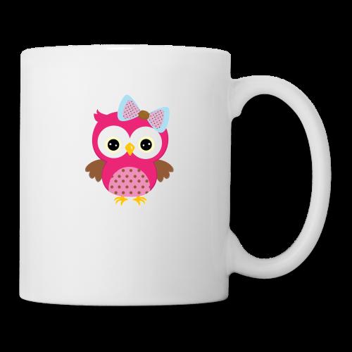 Girly Owl - Mug