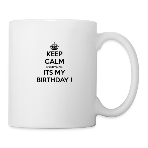 keep_calm_its_my_birthday - Mug