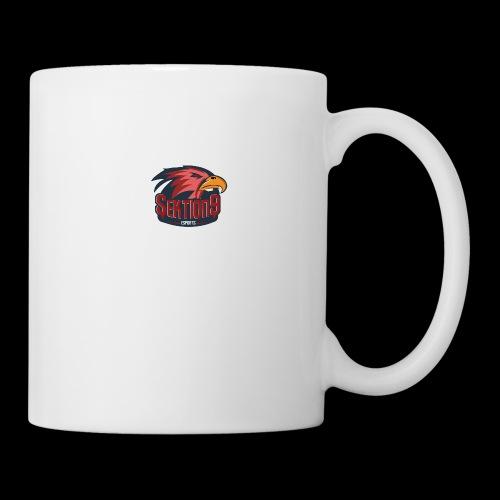Sektion9 logo Rot - Tasse
