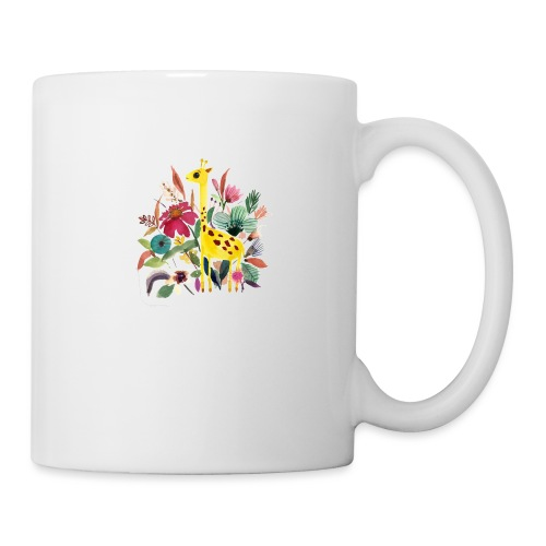Jirafa paint nature - Taza