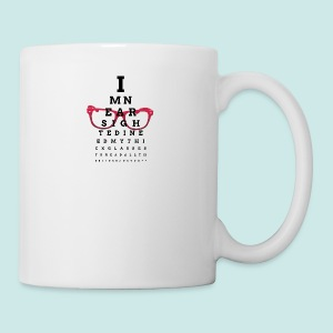 Eyechart Glasses Glasses - Tasse