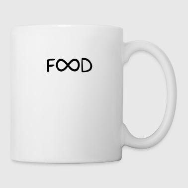 Unendlich Essen lustige Sprüche - Tasse