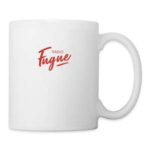 Radio Fugue Red - Tasse