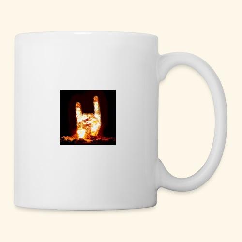 fingers bomb - Mug blanc