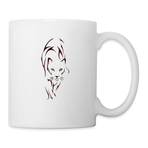 Big cat outline - Mug