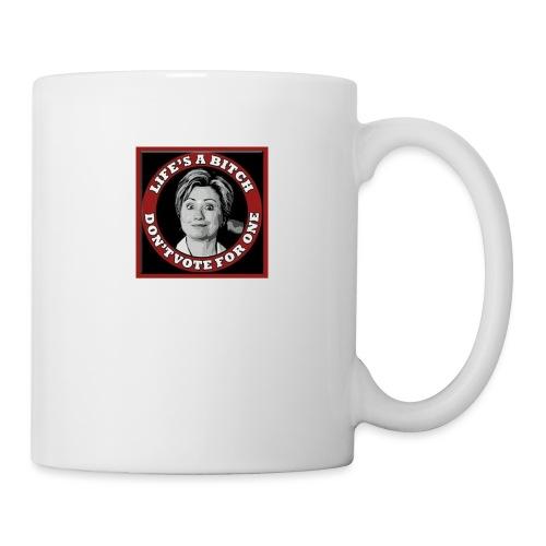 Don't Vote Hilary - Mug