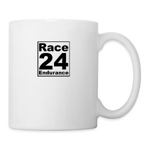 Race24 logo in black - Mug
