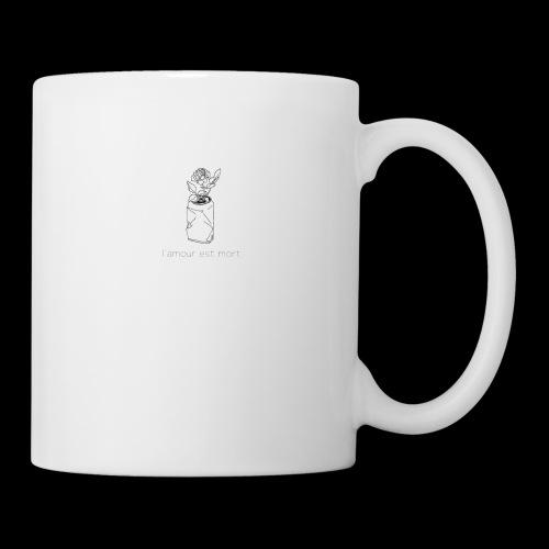 l'amour est mort - Mug blanc