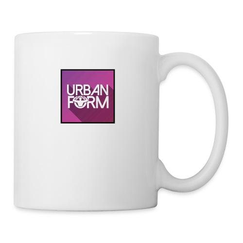 Logo URBAN FORM - Mug blanc