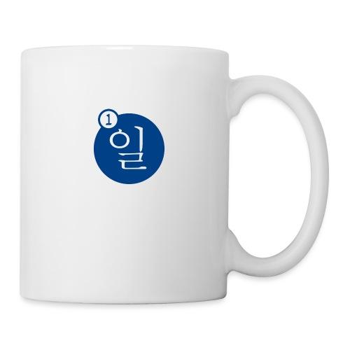 Uno en coreano - Taza