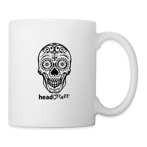 Skull & Logo black - Tasse