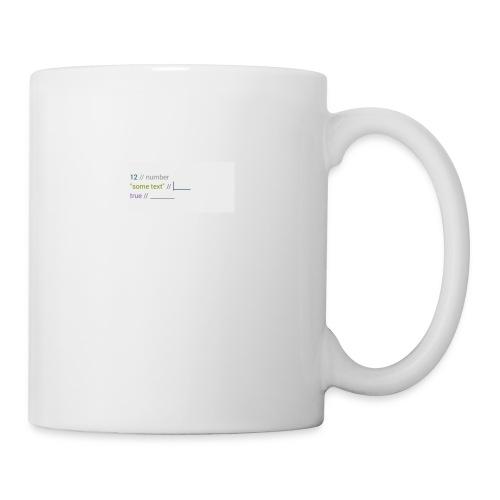 code - Mug blanc