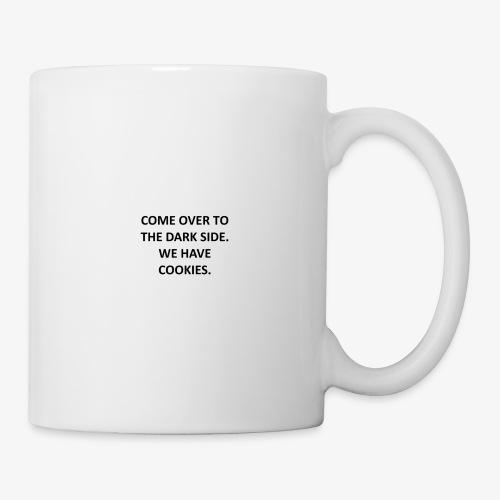 come over to the dark side - Mug