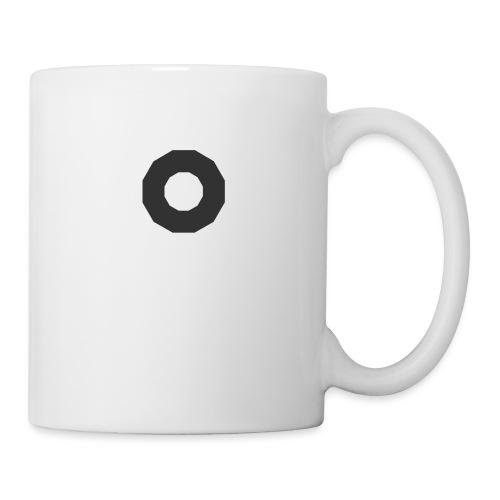 O - Mug blanc