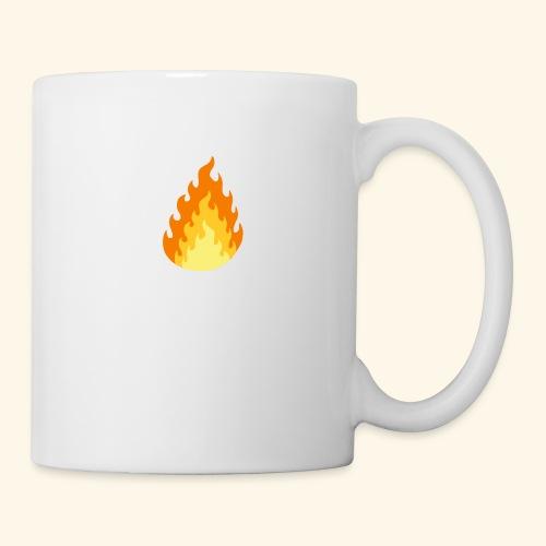 Logotipo Increíble de fuego - Taza