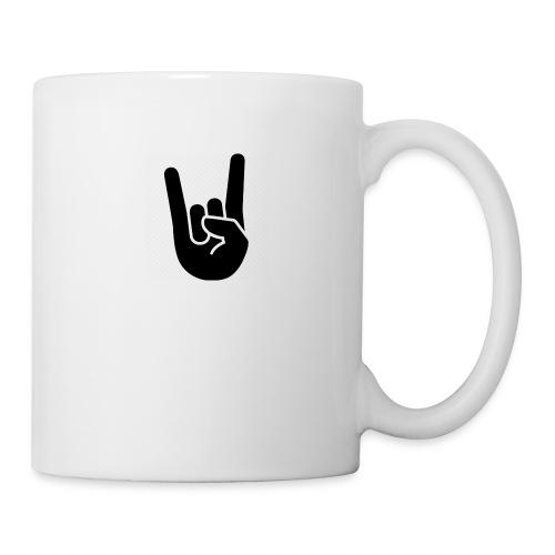 hand rock - Mugg