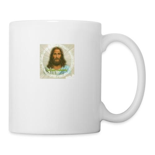 ROSTRO DE JESUS CON CODIGOS SAGRADOS - Taza