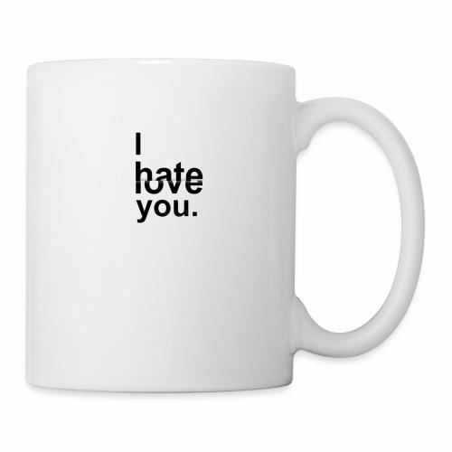 love hate - Mug