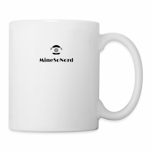 Minesonord Noir et Blanc - Mug blanc