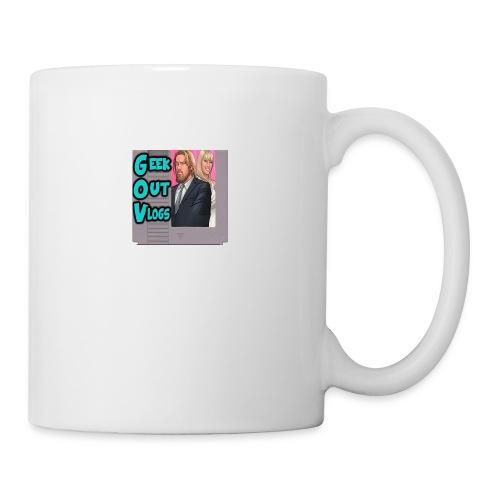 GeekOut Vlogs NES logo - Mug