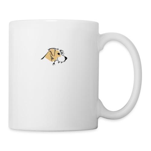 hundekopfausschnittg2 - Tasse