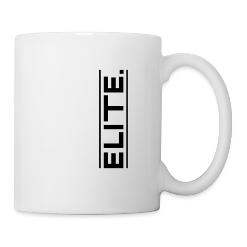 elite large black - Mug