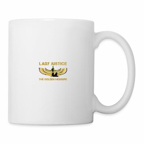 Lady Justice Golden Measure - Mug