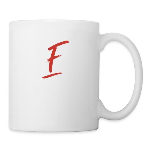Radio Fugue F Rouge - Mug blanc