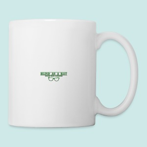 Blind as a Bat - Green - Tasse