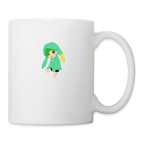 Green haired SkaiLaPie pillow - Mug
