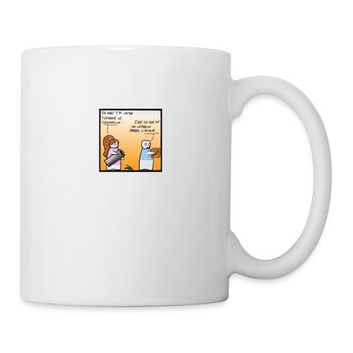 lepreux - Mug blanc