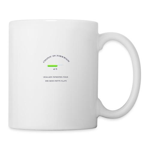 cuistot en formation - Mug blanc