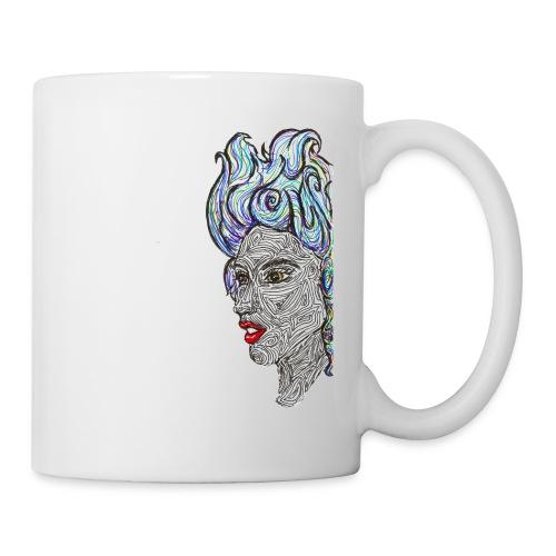 pop femme - Mug blanc